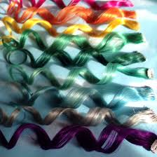 Human Hair Extensions With Clips by Mermaid Human Hair Extensions Unicorn Colored Hair Extension