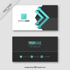visitenkarte design visitenkarte mit blauen details buisnes card visit