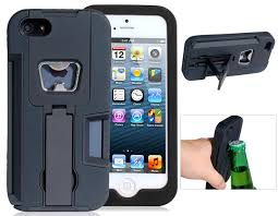this rugged iphone 5 case doubles as a bottle opener