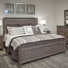 Talbot Wood Panel Bed In Driftwood Humble Abode - Magnussen nova platform bedroom set