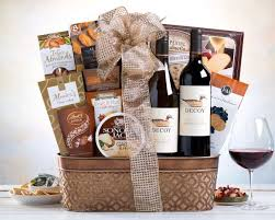 best wine gift baskets best christmas wine gift basket celebrate mondavi wine gift