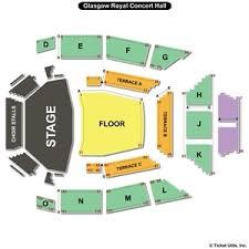 glasgow royal concert hall seating charts