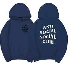 assc anti social social club hoodie jacket hoodies for sale