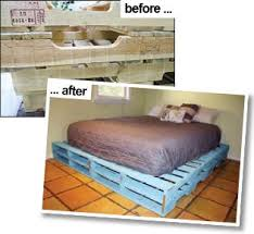 Best Wood To Build A Platform Bed by Best 25 Pallet Bed Frames Ideas Only On Pinterest Diy Pallet