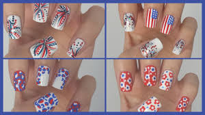 fourth of july nails four easy designs jennyclairefox