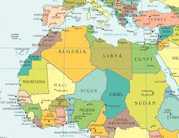 tunisia on africa map tunisia libyan forces are clashing with rebels and tunisian