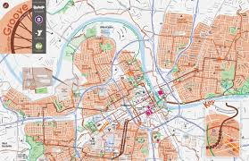 Eastern Tennessee Map by Bike Maps Walk Bike Nashville
