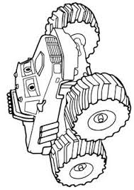 print coloring image monster trucks monsters and clip art