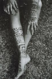 thigh sleeve tattoo designs best 20 aztec tribal tattoos ideas on pinterest samoan tribal