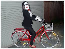 Saw Costume Saw Costume With Bike Costume Model Ideas
