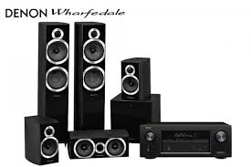 home theater system receiver wharfedale diamond 10 6 5 1 speaker system and denon avr x3100w