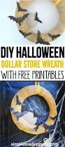 diy dollar store burlap fall wreaths with free printables simple
