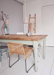 repeindre une table de cuisine en bois peindre une table en bois en blanc fabulous peindre ses meubles