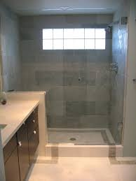 Modern Powder Room Shower Floor Tile Modern Powder Room Vanity And Sink Stainless