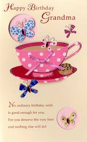 happy birthday embellished greeting card second nature