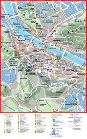 City Maps Salzburg City Center Map