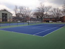 chicago tennis courts illinois hinsdale court construction