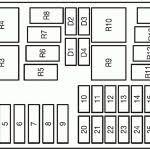 2007 ford focus fuse box layout solved fuse box layout on a 2007 ford focus fixya with ford