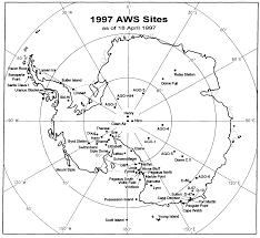 Map Of Antarctica Lower Atmosphere Studies