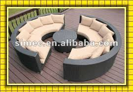 round patio furniture