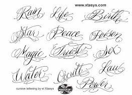 tribal alphabet letters
