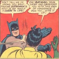 Slap Meme - dc what was the origin of the meme where batman slaps robin