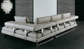 White Italian Leather Sofa by Italian Leather Sofa Pl0071 By Planum Leather Sectionals