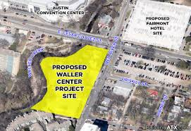 Austin Convention Center Map by Building Atx Waller Center U2013 Tallest Tower In Austin