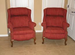 furniture wingback recliners living room with designer recliners