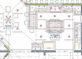 Kitchen Floor Plan Design Tool U Shaped Kitchen Layout With Island Architectural Floor Plan