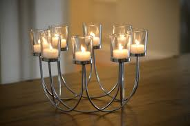 beautiful tea light glass candle holder wedding christmas table