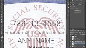 social security card template 100 images blank social security