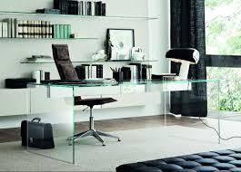 Glass Office Desk Gallotti U0026 Radice Air Glass Office Desk Gallotti U0026 Radice Furniture