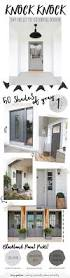 the perfect paint schemes for house exterior gray front doors