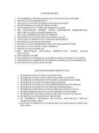 daftar isi daftar isi spo