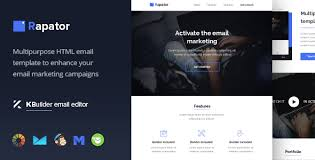 rapator multipurpose email template builder 1 0 by maileden