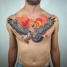 tattoo owl chest tattoo tattoo for men animals birds