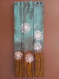 Barn Wood Paintings Red Poppies On Reclaimed Wood Primitive Fine Art By Autumn