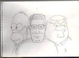 hank homer and peter by th walking dude on deviantart