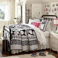 Pottery Barn White Duvet Bohemian Bed Skirt Pbteen