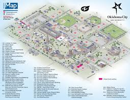 Western Michigan University Campus Map by Map Of Oklahoma City World Map
