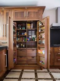 design ideas excellent kitchen pantry design with wood cabinets