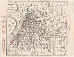 Memphis Map Index Of Memphis Historic Ucv