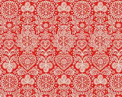 scandinavian fabric etsy