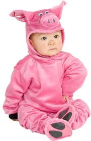 6 Month Halloween Costume Baby Infant Pig Halloween Costume Sz 6 12 Months Royal Bacon
