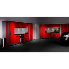 performance 75 in h x 78 in w x 18 in d steel base garage