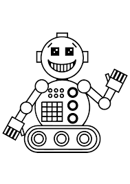 robot coloring pages kids coloringstar