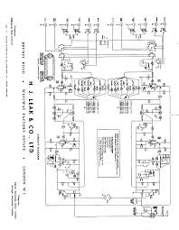 amplifier schematic wiring diagram components