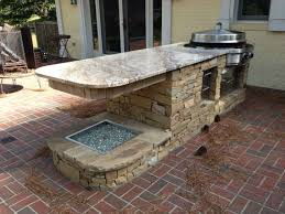 Outdoor Kitchen Cabinet Kits Exterior Stunning Outdoor Kitchen Islands For Summer Holidays U