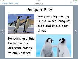 penguin writing paper 1st graders make penguin pdf books book creator app penguin play page in book creator